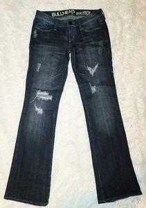 Bullhead Laguna Bootcut Distressed Jeans